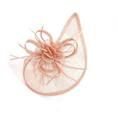 New Large Headband Aliceband Hat Fascinator Wedding Ladies Day Races Royal Ascot 12