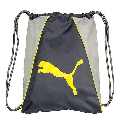 ... PUMA Cat Forever Drawstring Backpack Cinch GYM Sack School Soccer Sport Tote  Bag 4 714af1fefa0f9