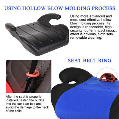 Car Booster Seat Chair Cushion Pad For Toddler Children Kids Sturdy 3-12 Years 8