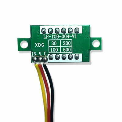 DC 0-100V Wires LED 3-Digital Mini Voltmeter Meter Display Voltage Panel Test 8