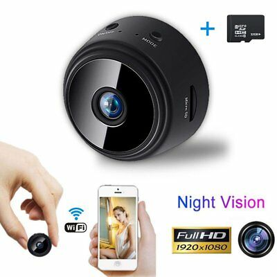 Mini Spy Camera Wireless Wifi IP Home Security HD 1080P DVR Night Vision Remote 2