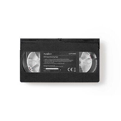 Cassette Video Vhs De Nettoyage Pour Magnetoscope Avec Liquide K7 Nettoyante 3