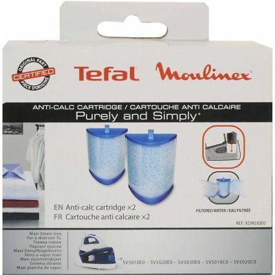 Tefal 2x cartuccia filtro acqua ferro Purely Simply SV5005 SV5020 SV5022 SV5030 4