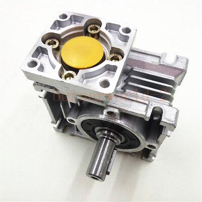 NEMA23-030 Worm Gear Speed Reducer NEMA23 Ratio 10 25 30 40 50:1 Stepper motor 3
