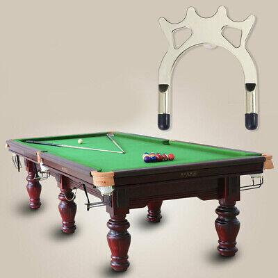 Anschraubbare Pool Billard Snooker Queue-Metall-Kreuz /& Queue-Brücken Cue Rack