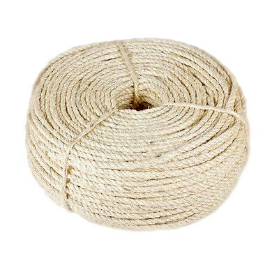 Natural Sisal Rope Cat Cats Scratching Post Claw Control Toys Crafts Pets Animal 3