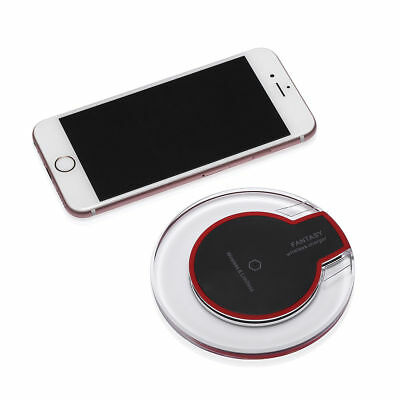 Qi Wireless Fast Charger Pad Charging Dock for iPhone XS Max Samsung Galaxy S9 7