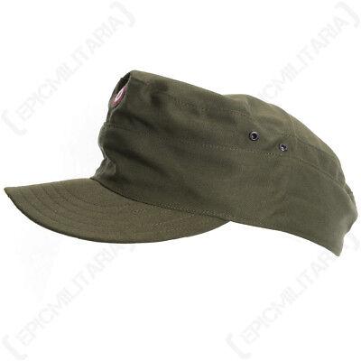 Original Austrian Army Olive Drab Field Cap - Original Military Surplus Army Hat