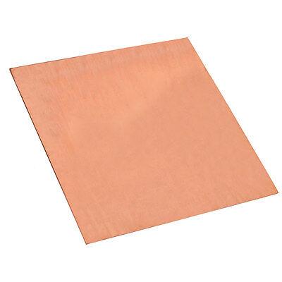 1PC 99.99% Pure Copper Cu Metal Sheet Plate 0.8mm*100mm*100mm 7