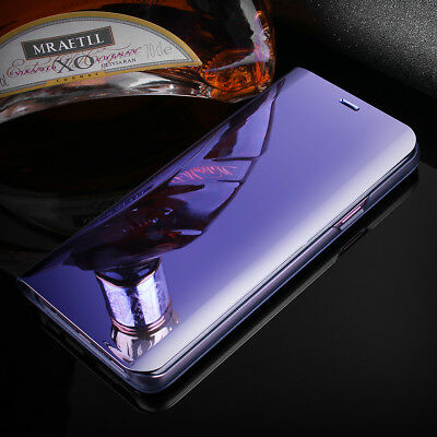 cf1079bd984 ... Luxury Touch Mirror Smart Flip Stand Case Cover Samsung Galaxy S10 S9  Note 9 S8 4