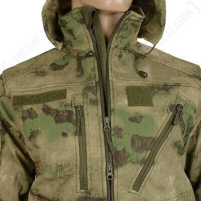 Mil-Tec US FELDJACKE ACU POCO R//S MIL-TACS FG Outdoorjacke Jacke