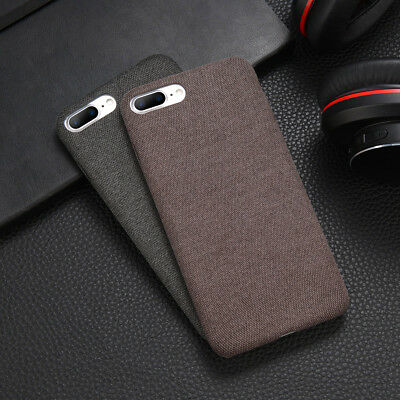 For iPhone XS Max XR X 6s 7 8 Plus Warm Fabric Soft Shockproof Matte Cover Case 8