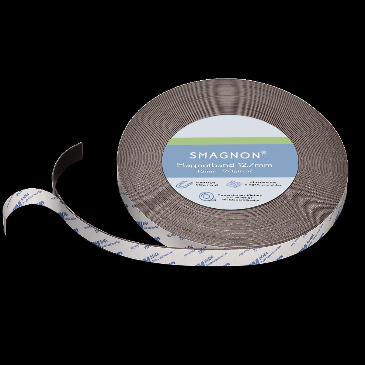 Magnetband mit 3M-Kleber selbstklebend Fliegengitter Band Magnetfolie Klettband 3