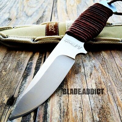 """8"""" MTECH Military SURVIVAL Tactical Fixed Blade Hunting Camping Knife + Sheath 3"""