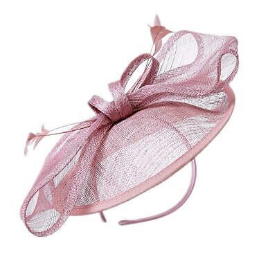 New Large Headband Aliceband Hat Fascinator Wedding Ladies Day Races Royal Ascot 7