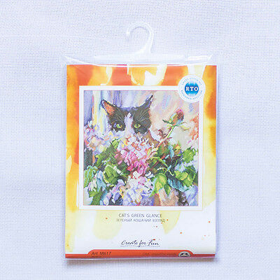 """/""""Bunch under the armpits/"""" Counted Cross Stitch Kit RTO M797"""