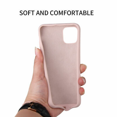 Case For Apple iPhone 11 Pro Max XS Max XR X 8 7 6S Plus Silicone TPU Slim Cover 9