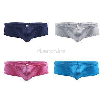 Wetlook Slip Männer Low Rise Unterwäsche Dessous Bikini Brief Unterhose Hotpants 2