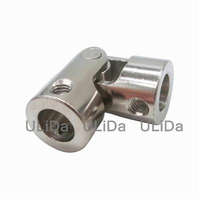 Stainless Steel Universal Joint RC Car Boats Model Cardan Gimbal Couplings Screw