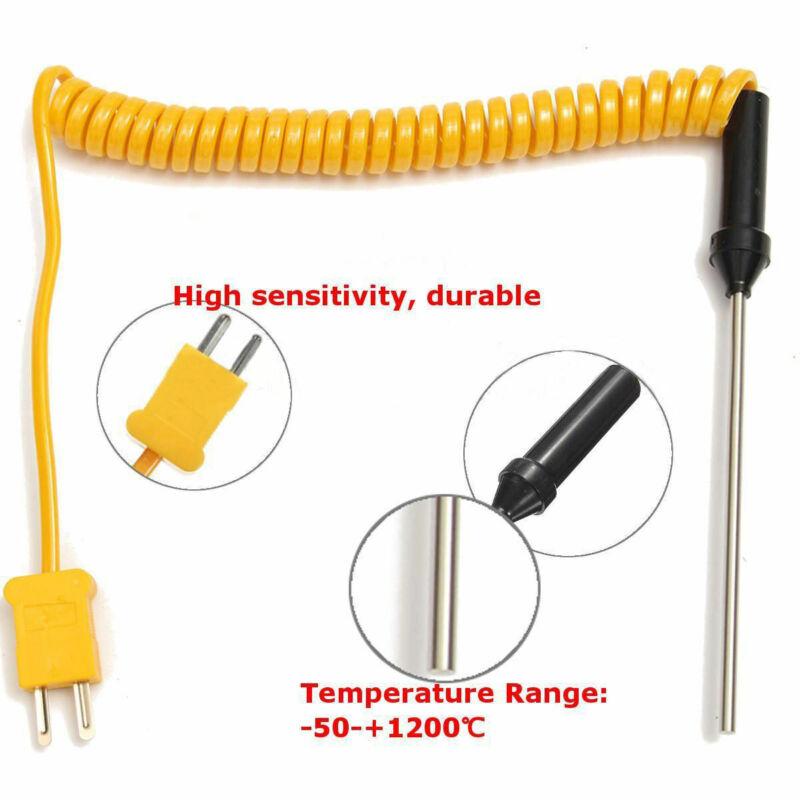 Digital K-Type Thermocouple Probe Sensor Temperature Controller Assorted Probes 6