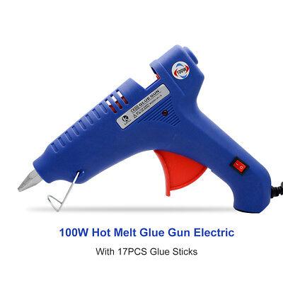 100W Professionale Temperatura Costante Pistola per Colla a Caldo 10