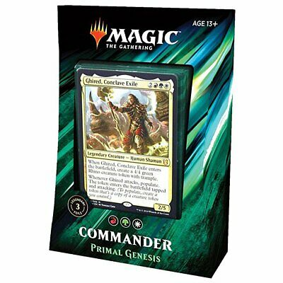 Magic Commander 2019 All 4 Decks Bundle Box 6