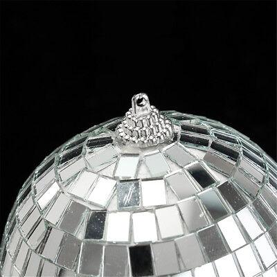 Mirror Glass Ball Disco DJ Stage Lighting Effect Party Home Decor Xmas 4-10cm 10