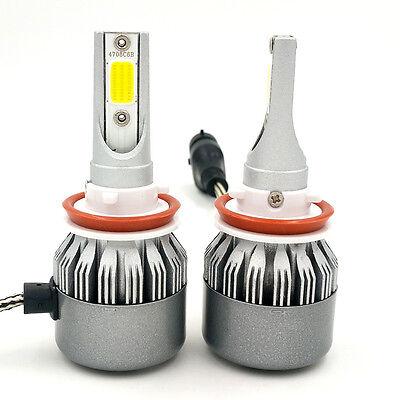 Cree LED Headlight Kit H8 H9 H11 1200W 168000LM 6000K Low Beam Fog Bulb HID 2018