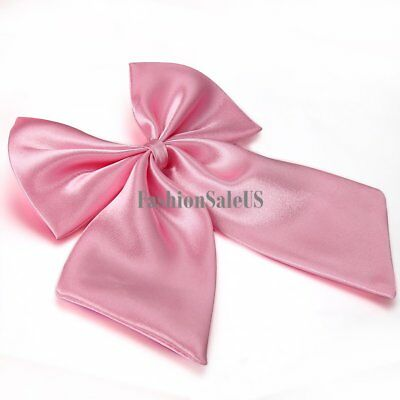 New Party Banquet Solid Color Adjustable Bow Tie Bowknot Women's Bowtie Neckwear