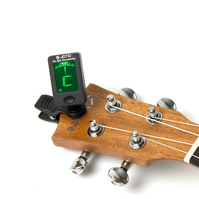 Chromatic Clip-On Digital Tuner for Acoustic Guitar Bass Violin Ukulele