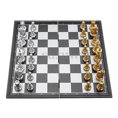 Pieghevole lavagna magnetica contemporanea Set di pezzi di scacchi gioco 4