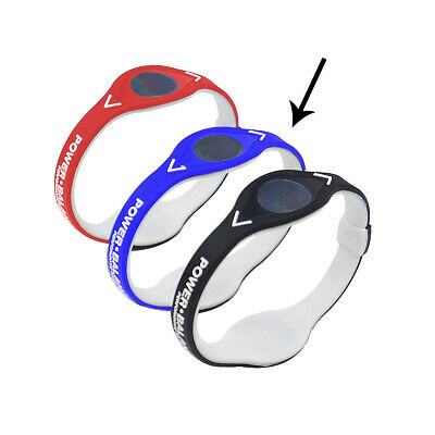 Power Balance Armband Energie Ionenband Silikon Band Fitness Sport Hologramm 2