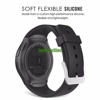 5x Samsung Gear S2 R720 Silicone Wrist Smart Watch Band + Wireless Charging Dock