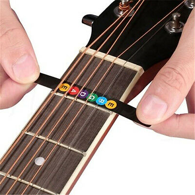 Guitar Fretboard Note Decal Fingerboard Musical Scale Map Sticker for Practice 9