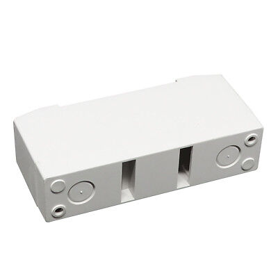 1 Pole 2 Pole MCB - Circuit Breaker Protective Cover Mounting Box Fixed Bracket 4