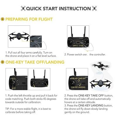 Drone X PRO Quadcopter with CASE UPGRADED Edition Selfie HD Camera WIFI Drone 7