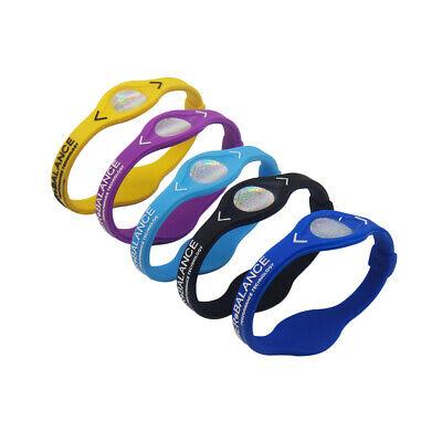 Power Balance Armband Energie Ionenband Silikon Band Fitness Sport Hologramm 6