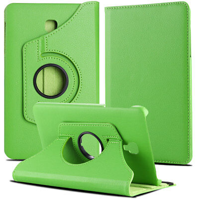 Folio Rotating Leather Case Cover For Samsung Galaxy Tab A 8.0 SM-T380 T387 T350 12