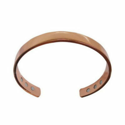 Copper Bracelet Magnetic Healing Bio Therapy Arthritis Pain Relief Bangle Cuff 9