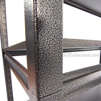 Concealed Rivet Industrial Boltless Shelving 1830x1219x610mm 300kg UDL 5 Levels 6