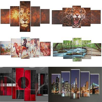 Living Room Canvas Print Wall Art Oil Painting Picture Mural Home Decor Unframed