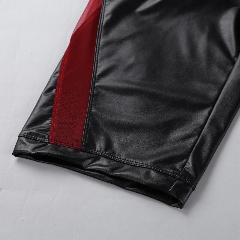 Herren Boxer Shorts Briefs Bikinihose mit Reißverschluss Unterwäsche Badehose 3