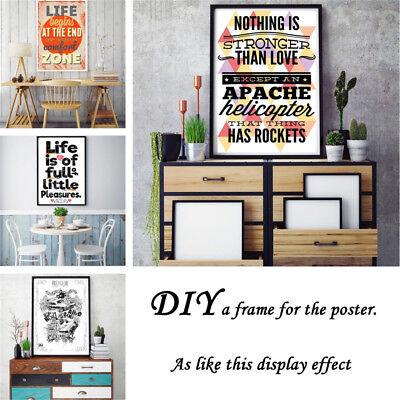 Custom Poster Print Photo Decorative Paint Canvas Art Home Wall Room Decor Gift 6