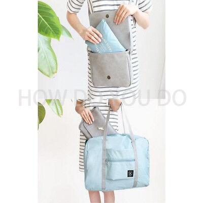 Portable Foldable Travel Storage Luggage Carry-on Big Hand Shoulder Duffle Bag 12