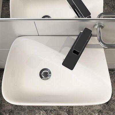 KERAMIK AUFSATZBECKEN WASCHBECKEN & -Tisch Waschschale Wandmontage ...