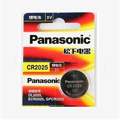 2/5/10X Battery Button Cell/Coin For Panasonic CR2016 /2025/2032 3V Calculator