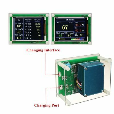 Household PM2.5 Detector Module Air Quality Dust Sensor TFT LCD Display Monitor 7