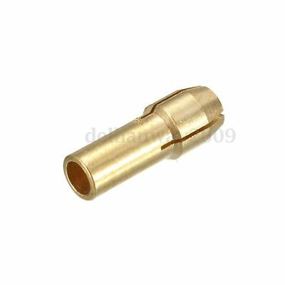 10Pcs Brass Drill Chuck Collet Bit For Dremel Rotary Tools 0.5 - 4.3Mm R20 3