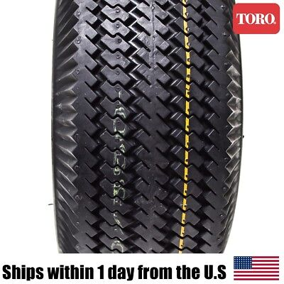 2 GENUINE OEM Toro TimeCutter Front Wheel Tire Assembly 4 10x3 50x4  4 10/3 50-4