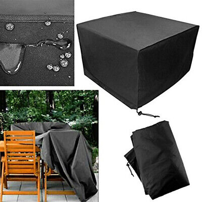 Premium Heavy Duty Waterproof Rattan Cube Cover Outdoor Garden Furniture Rain 6